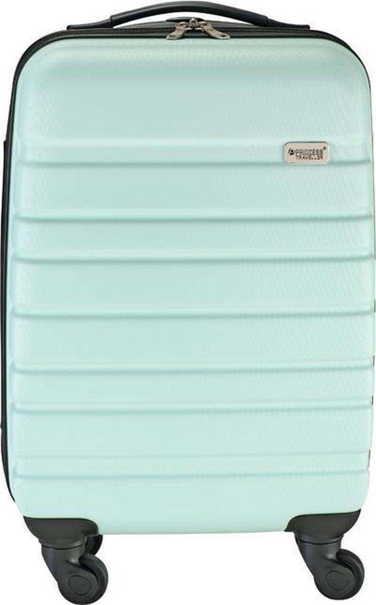 Princess Traveller Singapore Handbagage koffer 55 cm - Light Blue