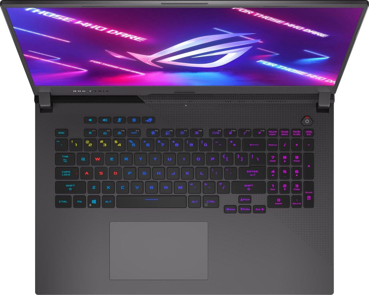 ASUS ROG G713QR-HG022T - Gaming Laptop - 17.3 Inch (300 Hz)