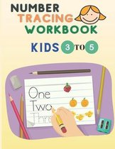 Number Tracing Workbook: Number Tracing for Preschoolers and Kids Ages 3-5 -Trace Numbers Practice Workbook for Pre K, K - Book to Master Numer