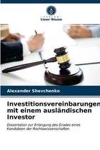 Investitionsvereinbarungen mit einem auslandischen Investor