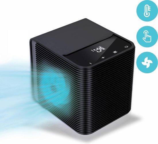Mobiele Airco - Ventilator - Luchtkoeler - Mobiele airco voor slaapkamer - LED Touchscreen - 2000 Watt