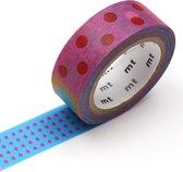 MT Masking Tape - Kapitza Polka Dot Vivid - 15mm - 7m