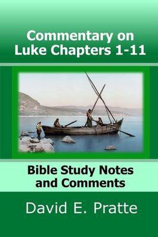 Boek cover Commentary on Luke Chapters 1-11 van David E Pratte (Paperback)