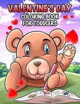 Valentine's Day Coloring Book for Toddlers: A Beautiful Coloring Book for Kids Containing Cute Animals and Fun Designs