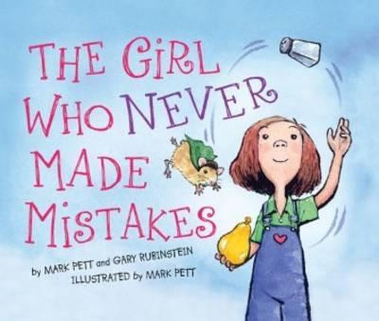 Boek cover The Girl Who Never Made Mistakes van Gary Rubinstein (Hardcover)