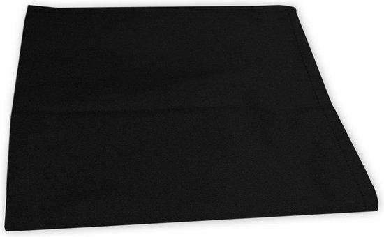 I2T Theedoeken 50x70 cm - Set van 4 - Zwart - 210 gr/m²