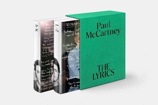 Boek cover The Lyrics: 1956 to the Present van Paul McCartney (Hardcover)