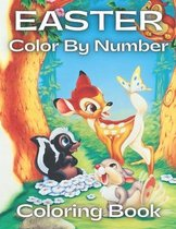 Easter Color By Number Coloring Book