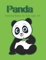 Panda Coloring Books for kids ages 3-8: First Funny Coloring Book for Kids Ages 6-8 Who Love Cute Pandas, Gift for Boys and Girls