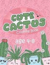 Cute Cactus Coloring Book