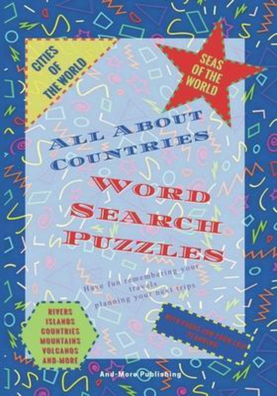 Word Search Puzzles All about Countries