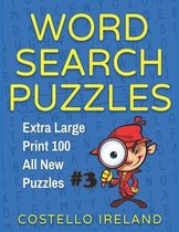 Word Search Puzzles, Extra Large Print