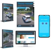Auto Theorieboek Engels 2021 (English) - Car Theory Book in English for Dutch Driving License B + 50 Online Exams, Summary, Apps and more - CBR Car Theory Learn License B 2021 - Lens Media