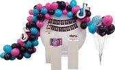 TikTok Thema Deluxe - Verjaardag Versiering - TikTok Thema - TikTok Kinderfeestje - Ballonnen