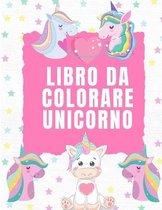 Libro da Colorare Unicorno