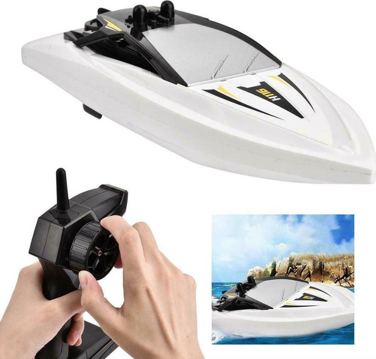Rc mini Boat - Radiografisch bestuurbaar boot -H116 - 18KM/u