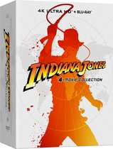 Indiana Jones 4-movie Collection (Steelbook) (4K Ultra HD Blu-ray)