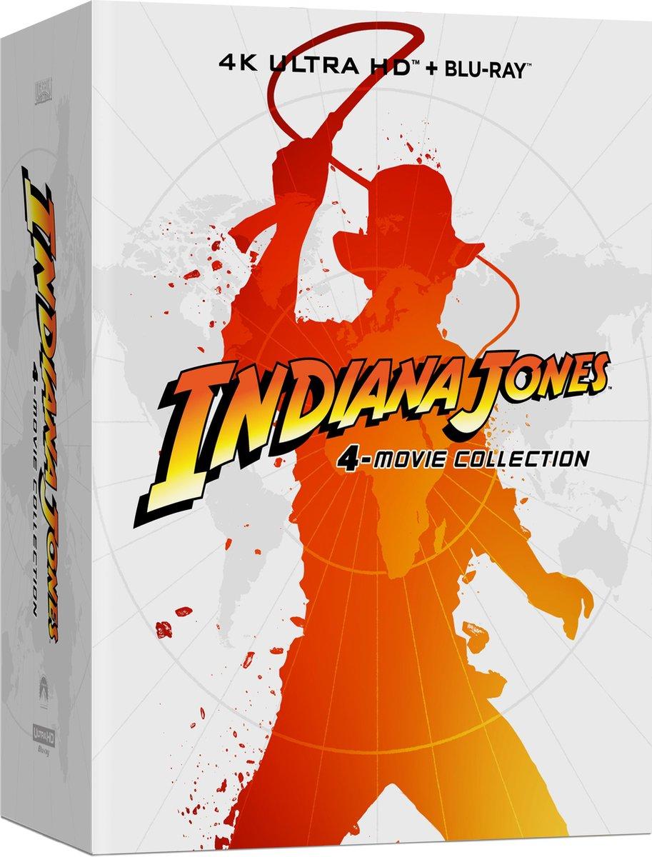 Indiana Jones 4-movie Collection (Steelbook) (4K Ultra HD Blu-ray)-