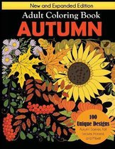 Autumn Adult Coloring Book