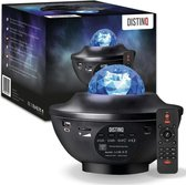 DistinQ Sterren Projector - Bluetooth - Galaxy Projector - Sterrenhemel - USB - Star Projector met Afstandsbediening