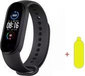 Smartwatch Dames-Smartwatch Stappenteller -Sport horloge -Smartwatch Heren- Smartwatch Kinderen-Activity Tracker -Bloeddrukmeter - Hartslagmeter- Afstandmeter- Calorieënteller-Fitness Tracker-Zuurstofmeter-Alternatieve Fitbit- Screenprotector-Zwart
