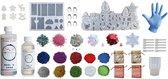 PNCreations Epoxy Uitgebreid Pakket | Resin | Siliconen Mallen  | Kleurpigmenten