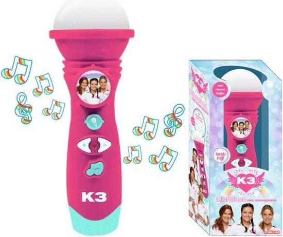 K3 - Microfoon met stemopname - Dromen - met nieuwe liedjes - inclusief batterijen