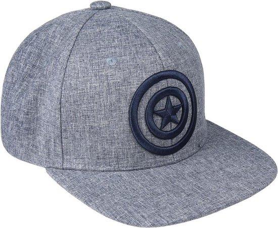 Marvel - Captain America 3D Fabric Logo Snapback Cap