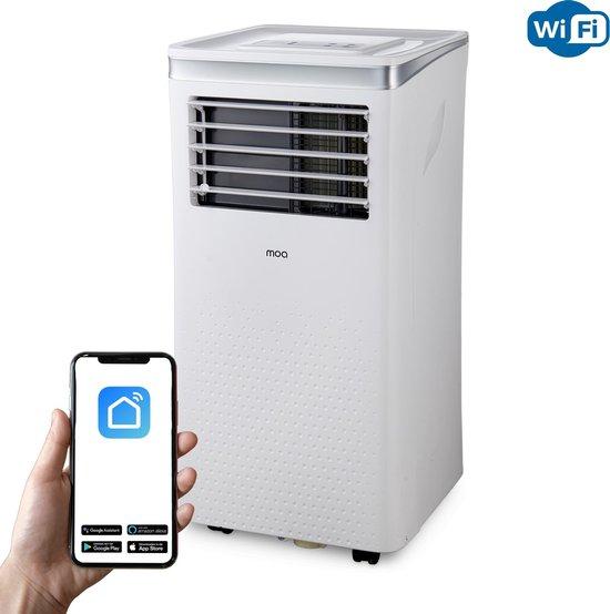MOA Mobiele Airco - Airconditioning met WiFi en App - 10000 BTU - A011D2S