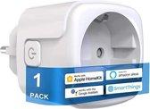 BELIFE Apple Homekit Smart Plug - Werkt alleen met Apple Homekit- Wall Plug - Slimme Stekker Apple Homekit