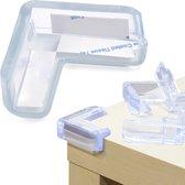 A&K HoekBeschermer Voor Baby & Kind - 8 Stuks - Baby Veiligheid voor Kast en Tafel Toepasbaar - Veiligheid in huis - Transparant