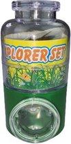 Bug Explorer Set - Groen / Transparant - Kunststof