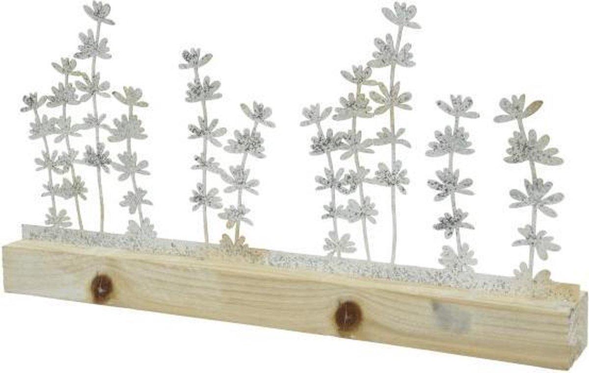 Decoris Tafel decoratie   bloemen   wit online kopen