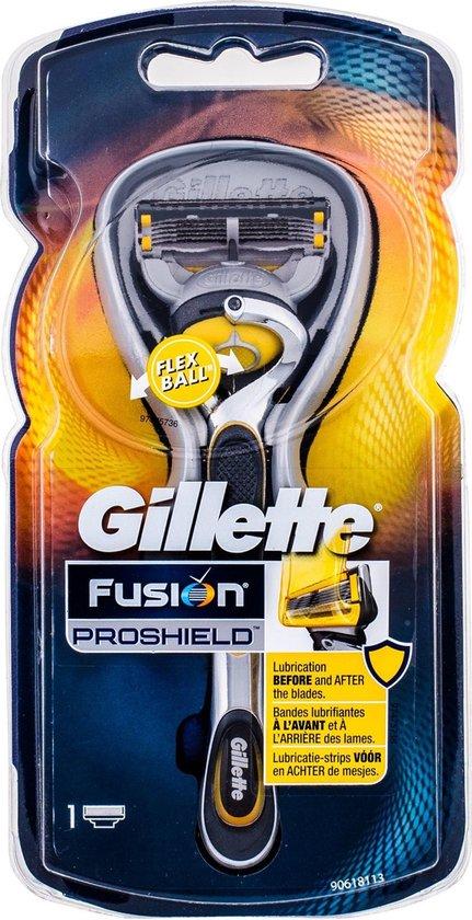 Gillette Fusion Proshield met Flexball Scheermes