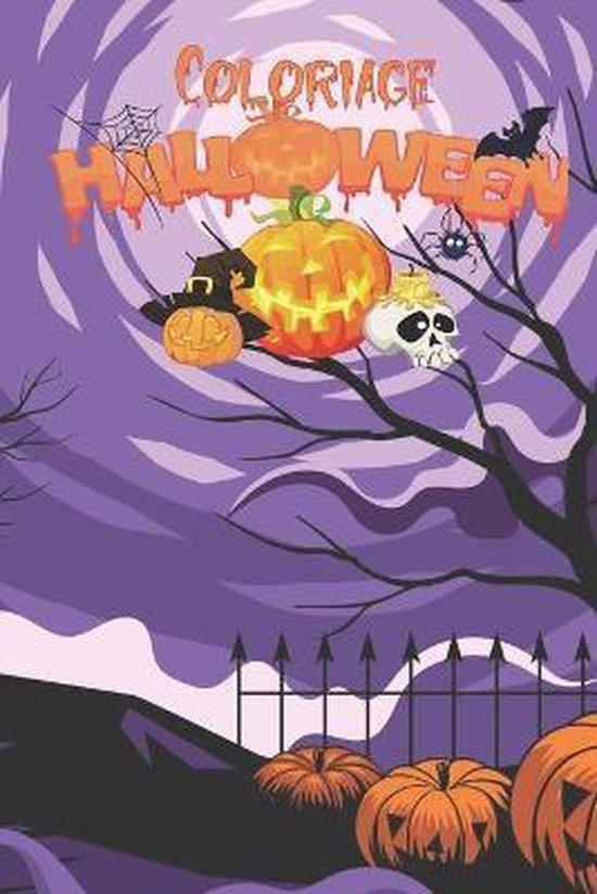 Coloriage d'Halloween