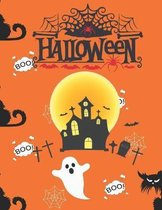 Halloween: Activity Book for Kids Ages 4-8