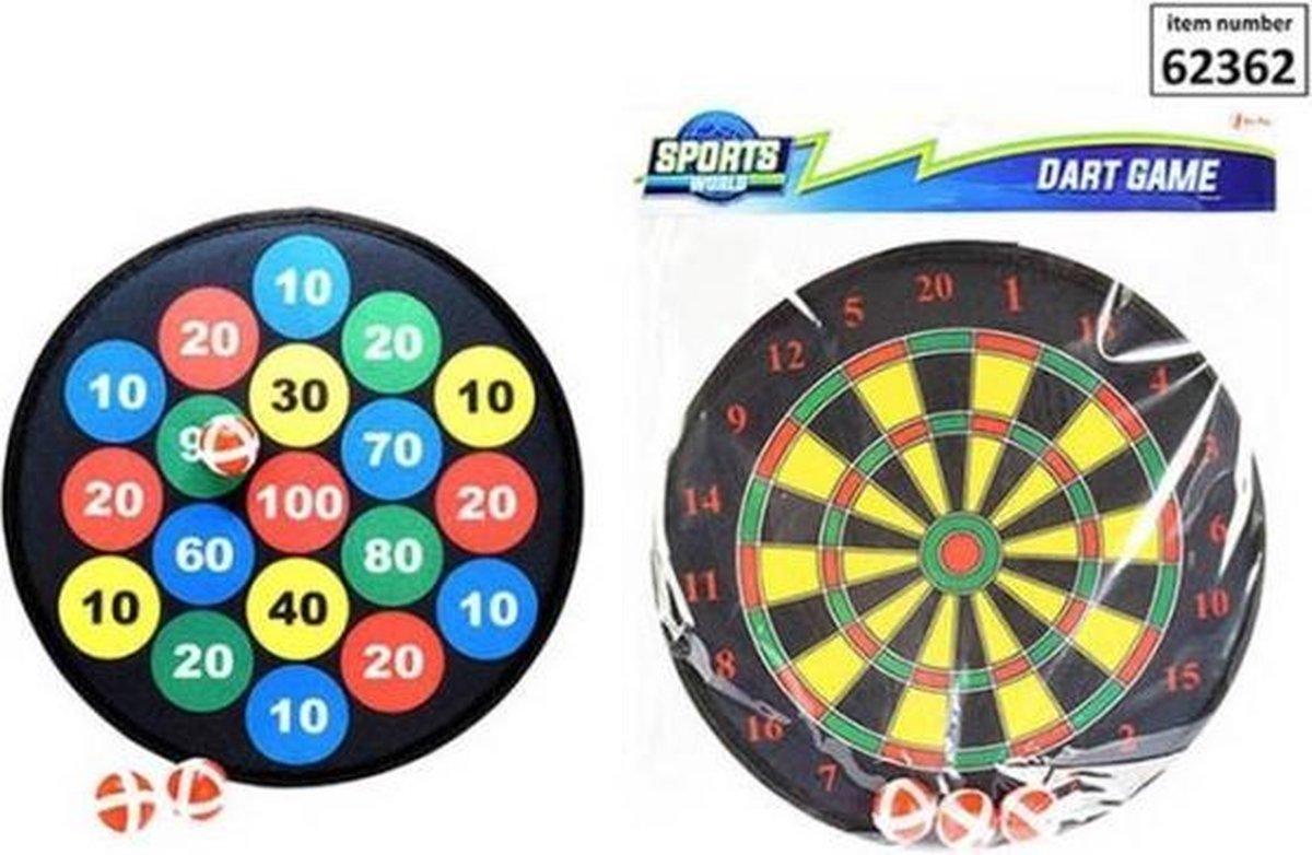 Darts Game Velcro Incl. Balls 2-Ass.