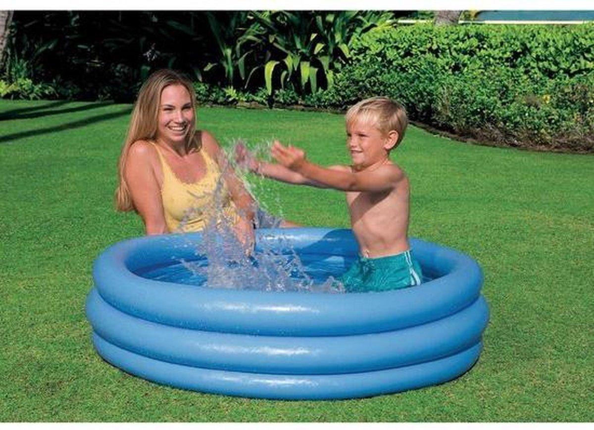 Intex Blauw Opblaasbaar Kinder Zwembad