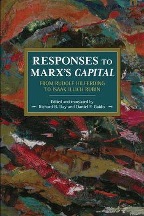 Boek cover Responses To Marxs Capital van  (Paperback)