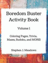 Boredom Buster Activity Book