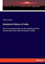Analytical History of India