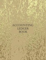 Accounting Ledger Book: Simple Accounting Ledger for Bookkeeping, Tracking Finances And Transactions 2021 Large 8.5 x 11 Inches 120 Pages