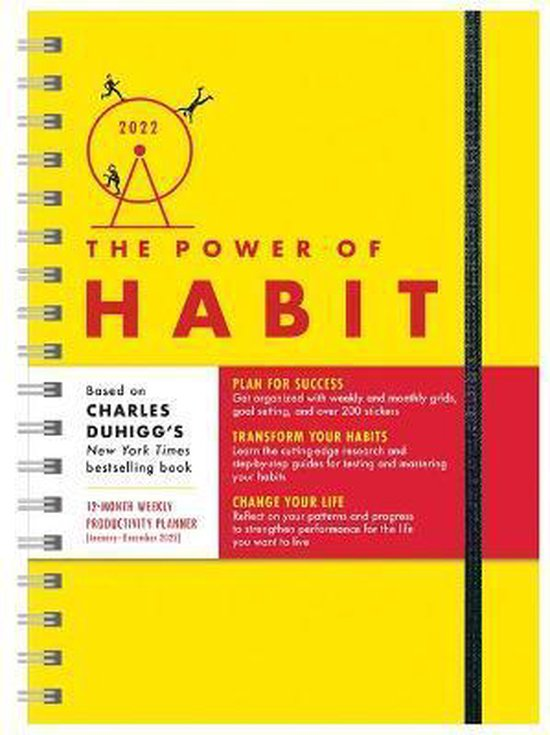 Boek cover 2022 Power of Habit Planner: Plan for Success, Transform Your Habits, Change Your Life (January - December 2022) van Charles Duhigg (Onbekend)