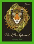 Black Background Coloring Book Part 1