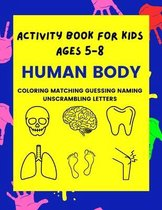 Activity Book For Kids Ages 5-8
