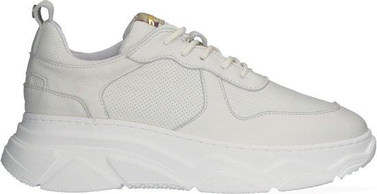 Red-Rag 71192 Lage sneakers - Leren Sneaker - Dames - Wit - Maat 41
