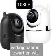 Babyfoon met camera wit -WIFI Beveiligingscamera wit -Hondencamera Wifi -Camera bewaking -Tweezijdige Communicatie -Spraakfunctie -Nachtzicht-Babyfoon met Wifi en app -Onbeperkt bereik -HD Quality -1080P-Nederlandse handleiding -opslag in Cloud of SD