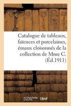 Catalogue de tableaux anciens et modernes, faiences et porcelaines, emaux cloisonnes