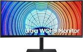 Samsung S65U - UQHD Ultrawide Monitor - USB-C - RJ45 - 100hz- 34 inch