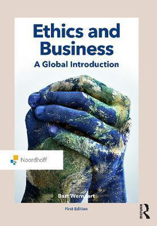 Boek cover Ethics and Business van Bart Wernaart